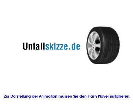 Unfallskizze: Flash Player erforderlich.
